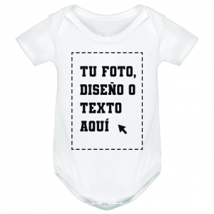 Body Bebé Personalizado 1 Cara