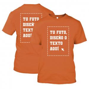 Camiseta Infantil Varios Colores Personalizada 2 Caras