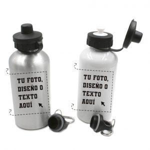 Botella de Aluminio 500ml Personalizada
